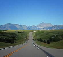 Where Prairies Meet  Mountains by Vickie Emms