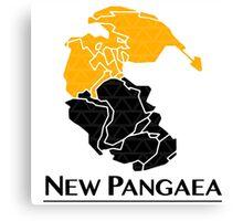 New Pangaea Canvas Print