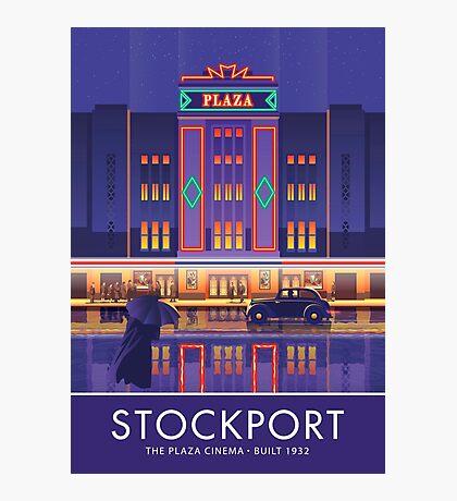 Stockport, Plaza Cinema Photographic Print