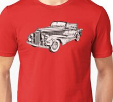 1938 Cadillac Lasalle Illustration Unisex T-Shirt