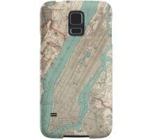 Vintage Map of New York City (1890) Samsung Galaxy Case/Skin