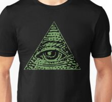 Illuminati Eyes Unisex T-Shirt