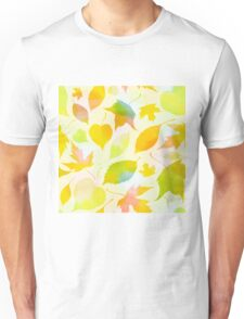 Falling leaves pattern Unisex T-Shirt