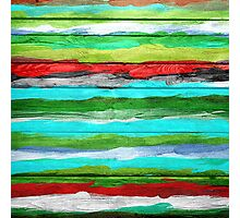 Watercolor Multicolor Abstract Background Photographic Print