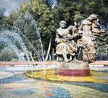 """Fountain """"Sadko"""" by Sue Martin"""