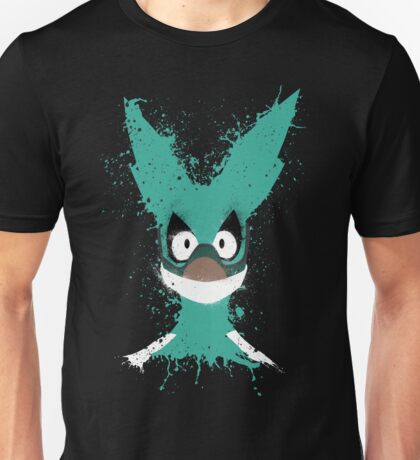 Boku No Hero Academia - Izuku Mask Splatter Unisex T-Shirt
