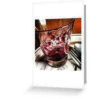 Glass Jelly Greeting Card