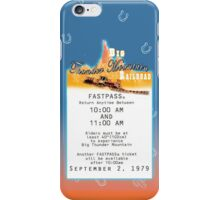 Thunder Mountain- Fastpass (#2) iPhone Case/Skin