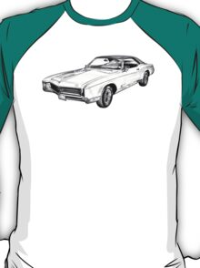 1967 Buick Riviera Illustration T-Shirt