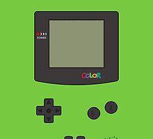 Gameboy color - kiwi by acid-spit