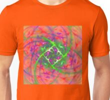 At the beginning of the rotation #fractal art Unisex T-Shirt