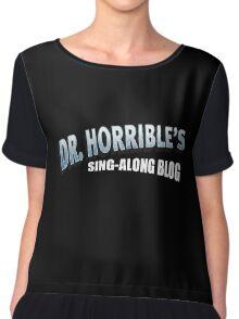 Dr. Horrible's Sing-Along Blog Chiffon Top