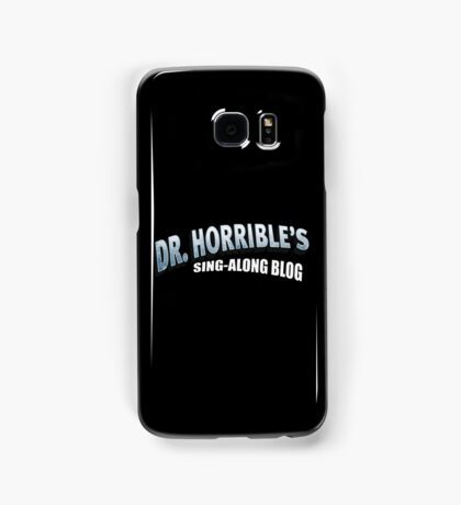 Dr. Horrible's Sing-Along Blog Samsung Galaxy Case/Skin