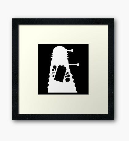 The Inner Dalek Framed Print