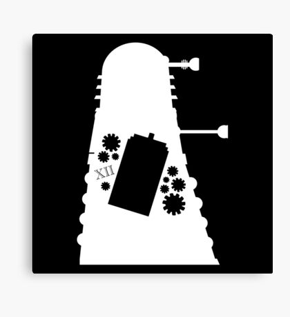 The Inner Dalek Canvas Print