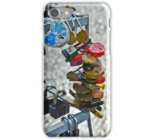 Padlocks of Love iPhone Case/Skin