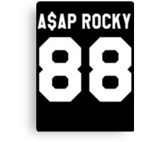 A$AP Rocky 88 Canvas Print