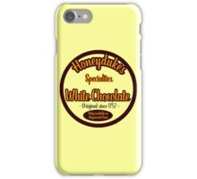 Honeydukes Chocolate - White!Version iPhone Case/Skin