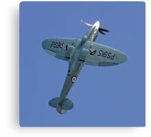 "Supermarine Spitfire PR.XIX PS915 ""The Last"" Canvas Print"