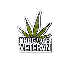 DrugWarVeteran Photographic Print