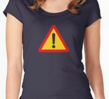 More Danger! Women's Fitted Scoop T-Shirt