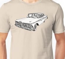1959 Edsel Ford Ranger Illustration Unisex T-Shirt