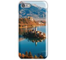 Lake Bled in Autumn  iPhone Case/Skin