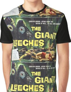 Attack of the Giant Leeches vintage movie poster Graphic T-Shirt