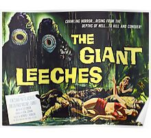 Attack of the Giant Leeches vintage movie poster Poster