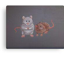 Mice Friends Canvas Print