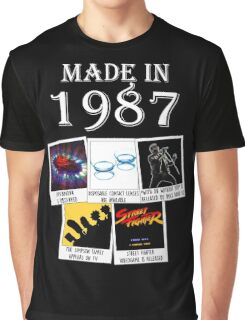 Made in 1987, main historical events Graphic T-Shirt