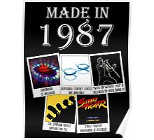 Made in 1987, main historical events Poster