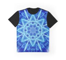 Ice Matrix Mandala Graphic T-Shirt