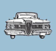 1959 Edsel Ford Ranger Illustration Kids Tee