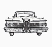 1959 Edsel Ford Ranger Illustration Baby Tee