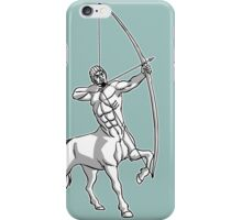 White Centaur Aiming High T-Shirt by Cheerful Madness!! iPhone Case/Skin