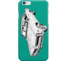 1966 Pontiac Lemans Car Illustration iPhone Case/Skin