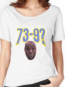 Lebron James Funny Face Women's Relaxed Fit T-Shirt