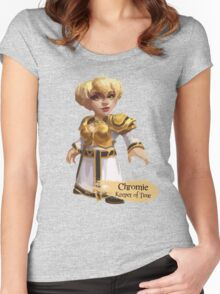 Keeper of Time Women's Fitted Scoop T-Shirt