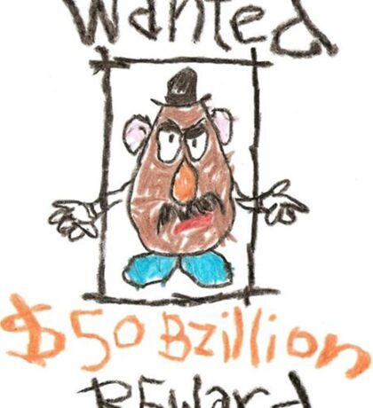 Toy Story 1 Mr Potato Head Poster Sticker