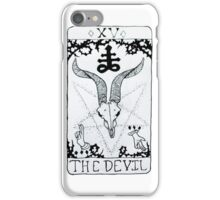 The Devil Tarot Card iPhone Case/Skin