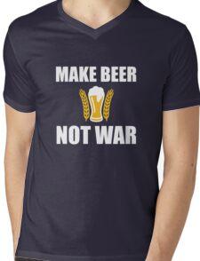 Make Beer not war Mens V-Neck T-Shirt