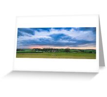 Dramatic Countryside Greeting Card