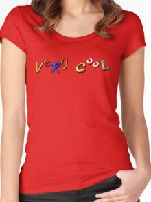 Earthworm Jim - Very Cool Women's Fitted Scoop T-Shirt