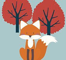 Foxy Friend by KarinBijlsma
