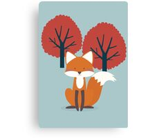 Foxy Friend Canvas Print