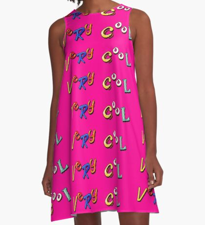 Earthworm Jim - Very Cool A-Line Dress