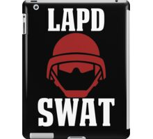 LAPD SWAT iPad Case/Skin