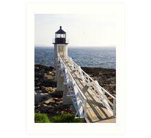 Marshall Point Lighthouse, Port Clyde, Maine Art Print