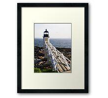Marshall Point Lighthouse, Port Clyde, Maine Framed Print